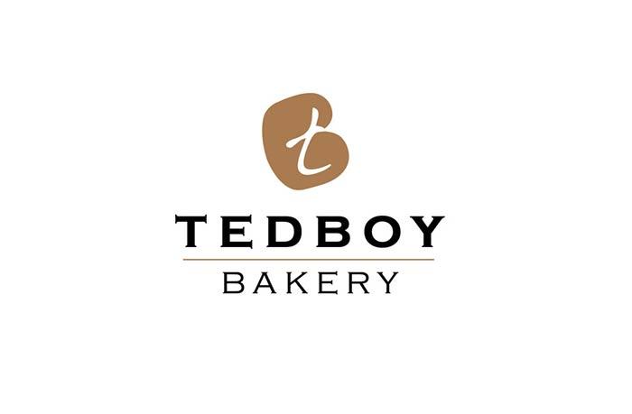 TedBoy Bakery logo design