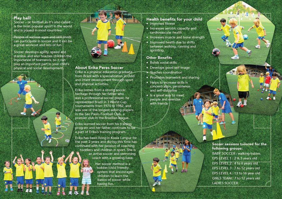 Leaflet for Soccer Classes