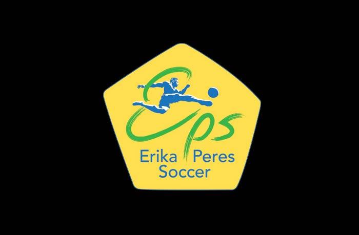 Erika Peres Soccer logo design