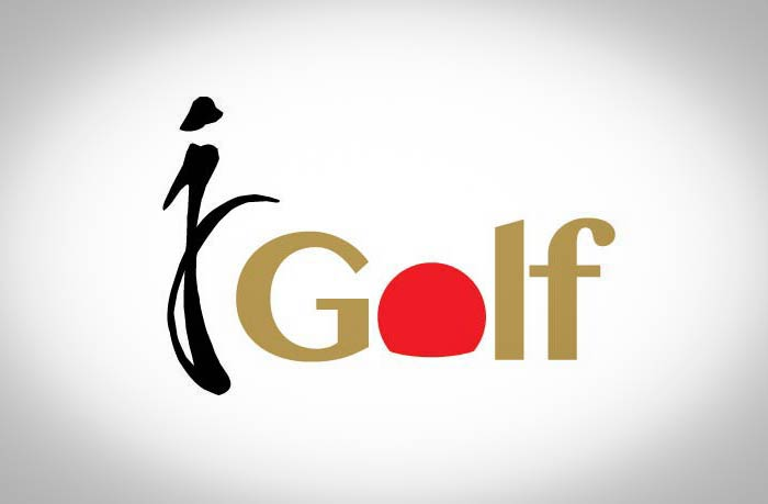 J-Golf logo design