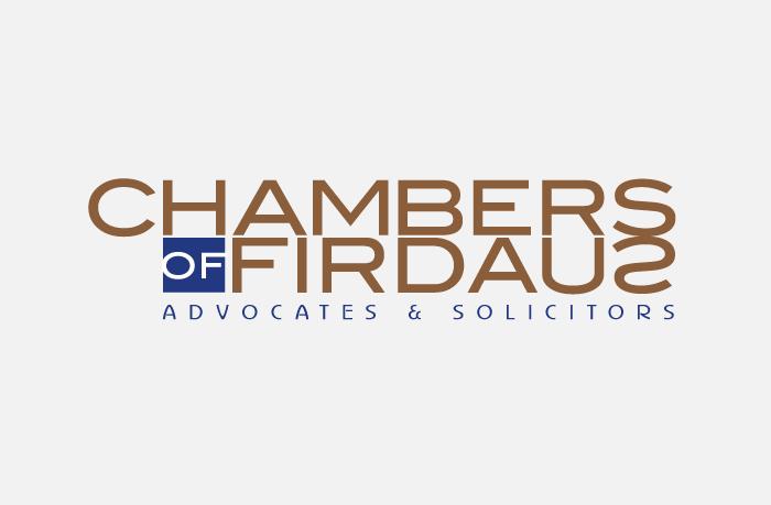 Chambers Of Firdaus logo design