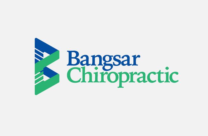 Bangsar Chiropractic logo design